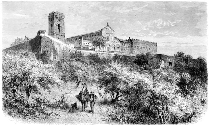 San Miniato al Monte michelangelo