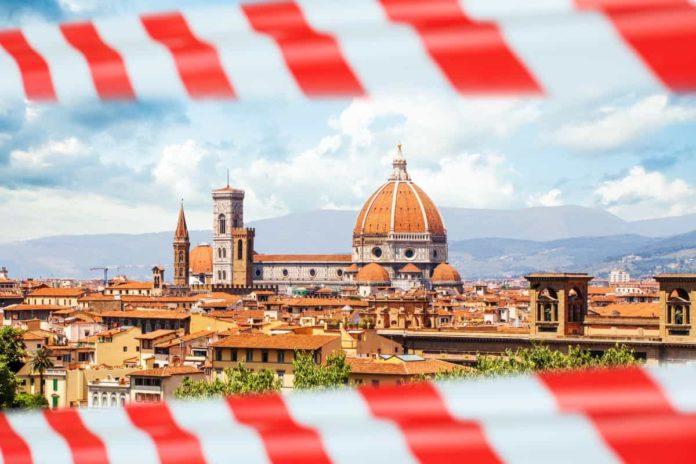 Firenze zona rossa per quanto fino quando sabato 17 aprile