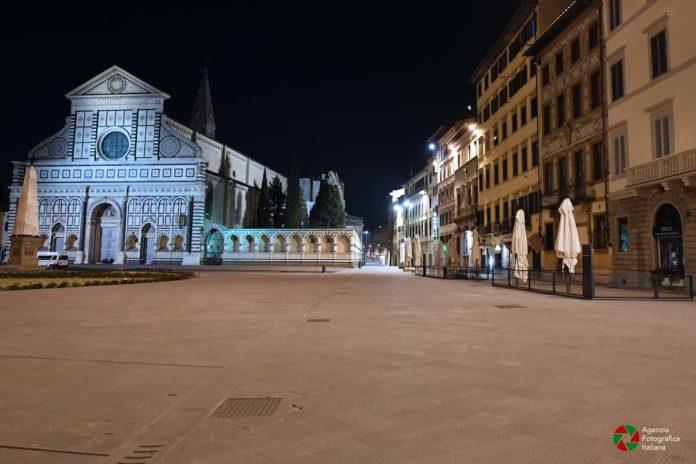 Firenze zona arancione da quando torna colore covid Toscana