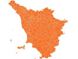 toscana resta zona arancione gialla quando aprile 2021