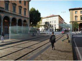 Tramvia a Firenze, dal 23/4 nuova fase lavori piazza della Libertà