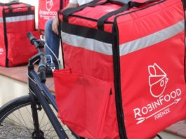 Robin Food Firenze delivery rider coop