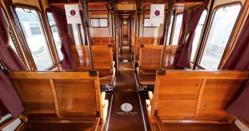 treno storico dante costo come prenotare