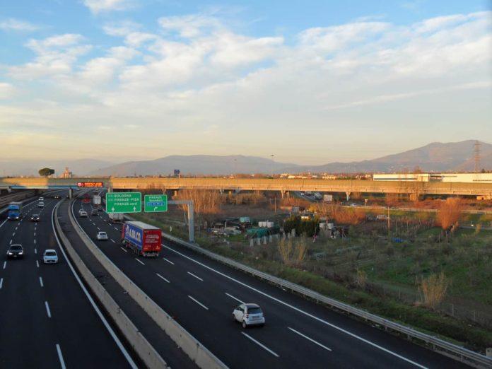 A1 Firenze Impruneta pedaggio gratis