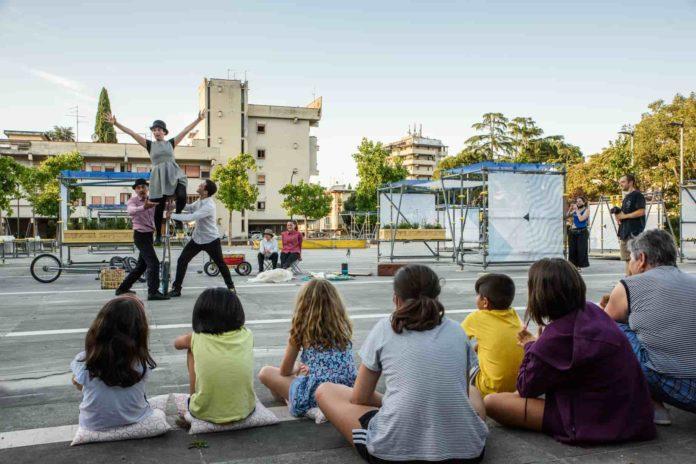 Fuori Centro Racconti Urbani foto credits Maginaria _location Piazza Istria Firenze