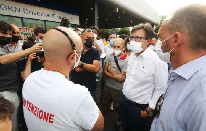 Sciopero generale Firenze 19 luglio Gkn licenziamenti chiude campi bisenzio