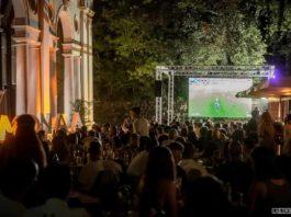 Maxischermo Firenze europei finale italia dove vedere