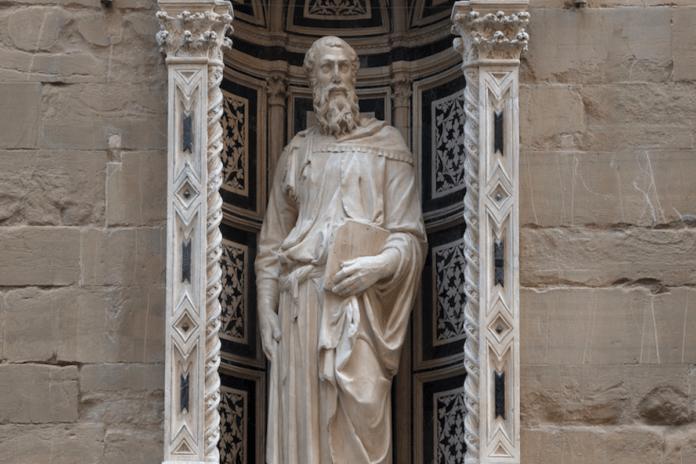 restauro Orsanmichele tabernacolo Donatello Firenze