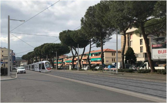 Tramvia Firenze, linea Libertà-Bagno a Ripoli