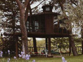 Case sull'albero dove dormire con bambini in Toscana casa Barthel