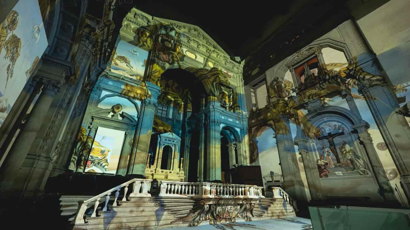 Dalì Firenze cattedrale dell'Immagine