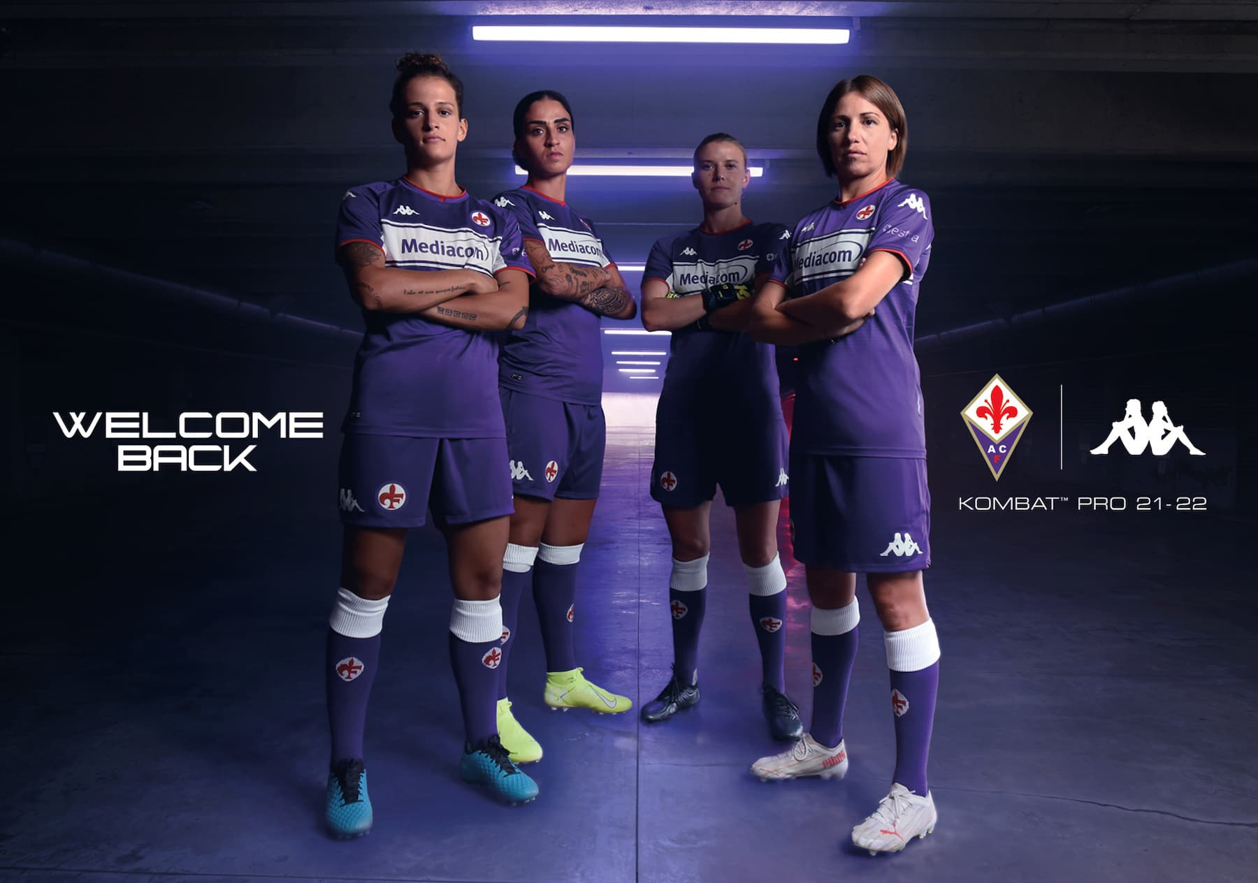 Nuova maglia Fiorentina 2022 femminile