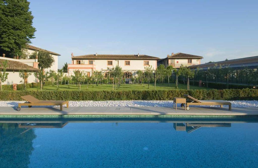 Piscina hotel villa olmi Firenze ingresso giornaliero