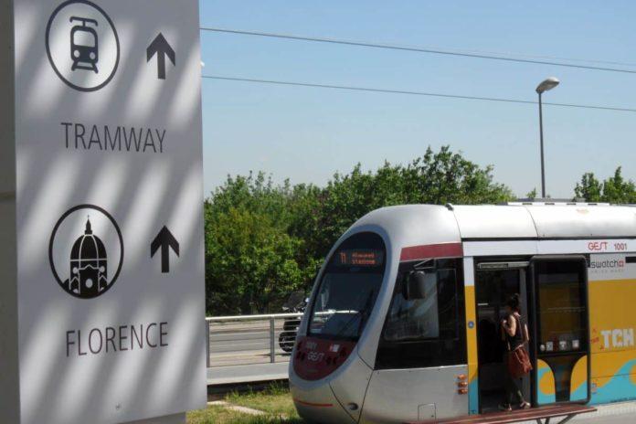 tramvia firenze linea 1 lavori interrotta 30 agosto