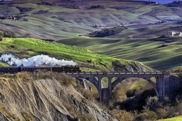Treni storici toscana treno natura vapore siena calendario 2021