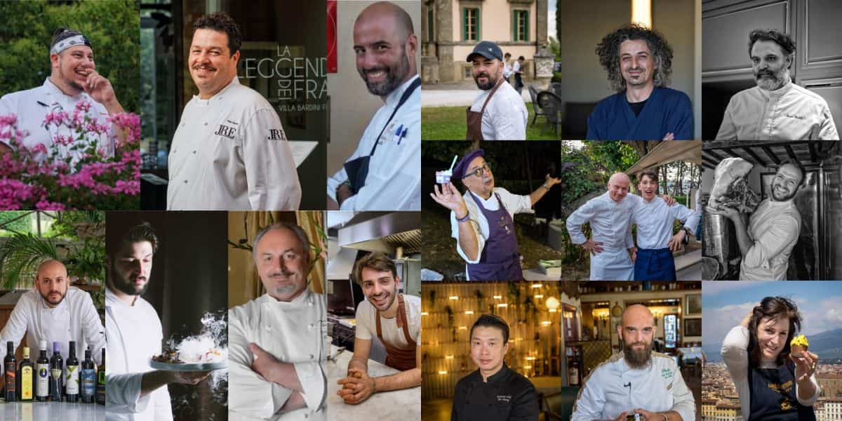 Italian Chef Charity Night 2021 firenze Forte Belvedere