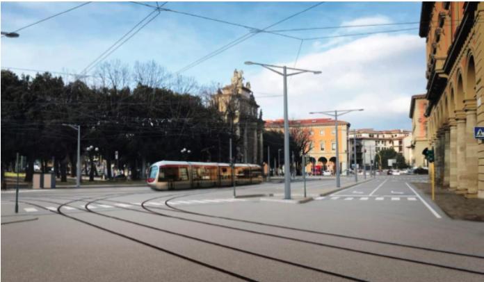 Un altro stop per il cantiere della tramvia in piazza della Libertà