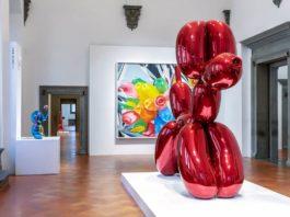 Jeff Koons Palazzo Strozzi mostre firenze ottobre 2021 in corso da vedere