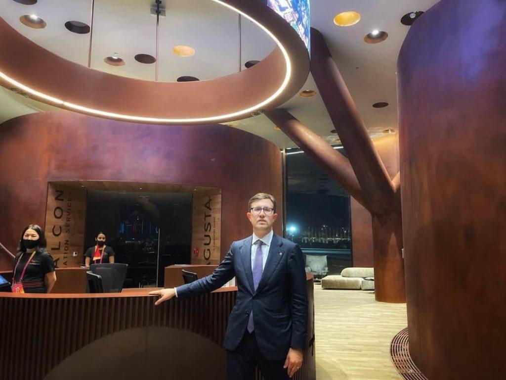 Dario Nardella Expo Dubai 2020